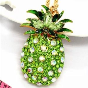 BETSEY JOHNSON~ PINEAPPLE Necklace